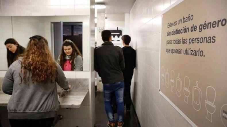 Inauguran baños sin distinción de sexo en la UBA