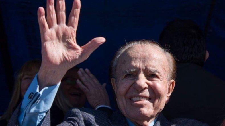 Carlos Menem por ahora está inhabilitado para participar como precandidato en las PASO.