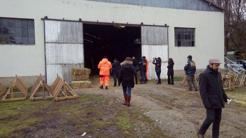 Encontraron pelos y una soga en el allanamiento a Gendarmería