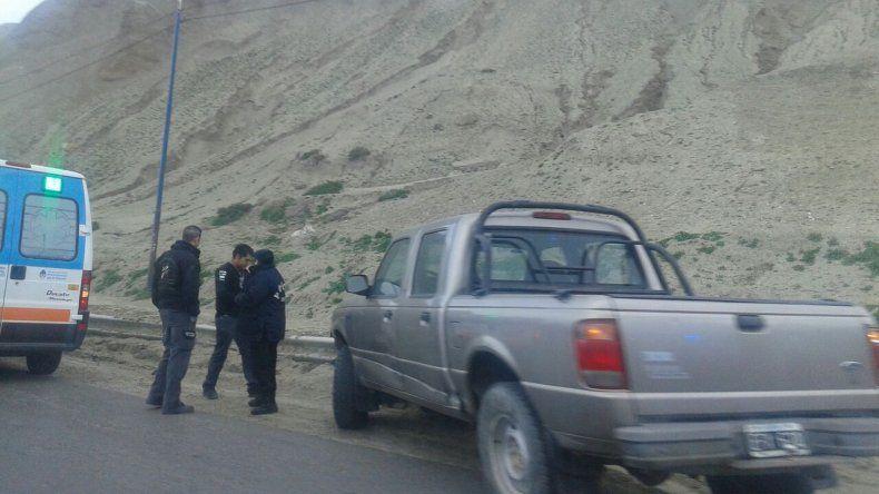 Camionero protagonizó un accidente en el ingreso a Comodoro
