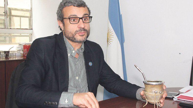 Juan Trebino (Subsecretario del ministerio de medio ambiente).