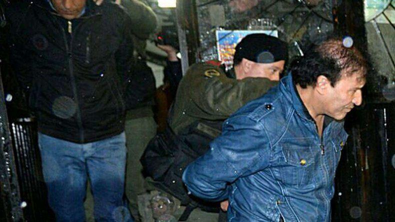 La detención de Enrique Antequera.