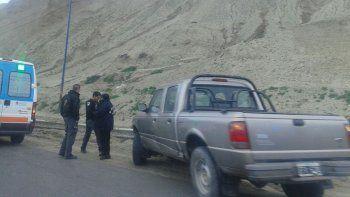 En conductor de la camioneta le dijo a los inspectores de tránsito que el camión lo encerró.