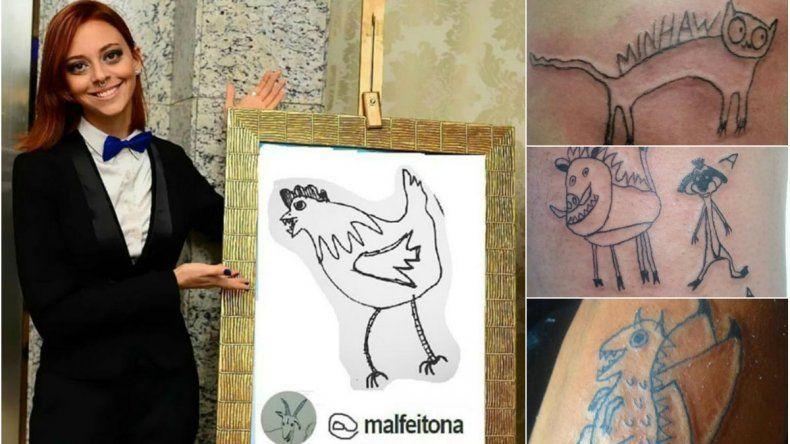 La peor tatuadora del mundo es un éxito