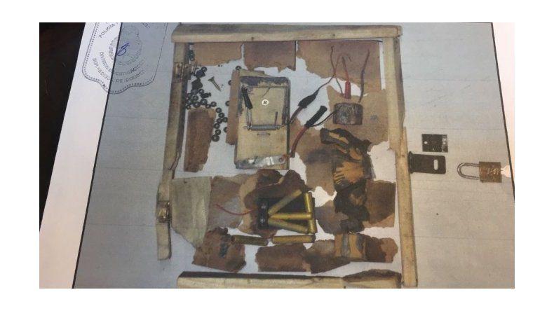 Éste es el paquete bomba que estalló en Indra