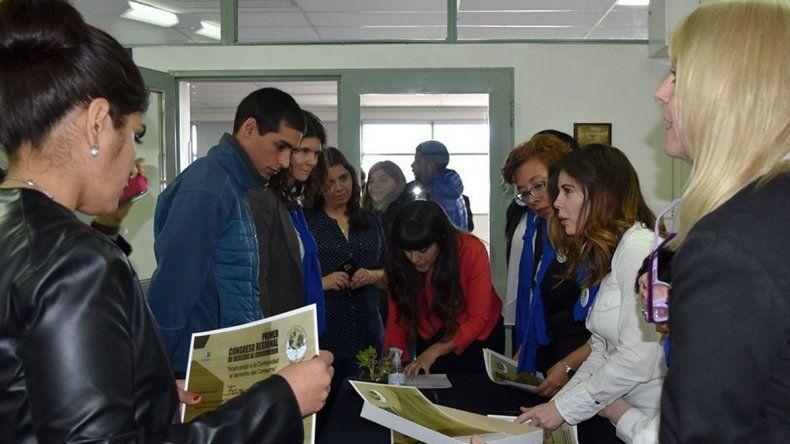 Al Congreso de Derechos del Consumidor asistieron referentes de la oficina local y de Perito Moreno