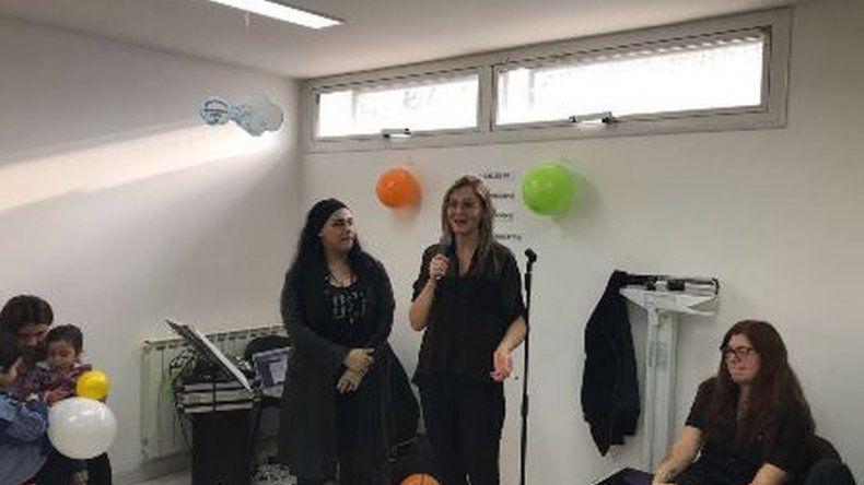 Realizan taller de musicoterapia en el hospital de Rada Tilly