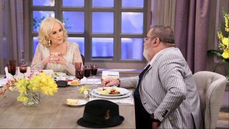 El cuestionamiento de Mirtha Legrand a Jorge Lanata por su separación