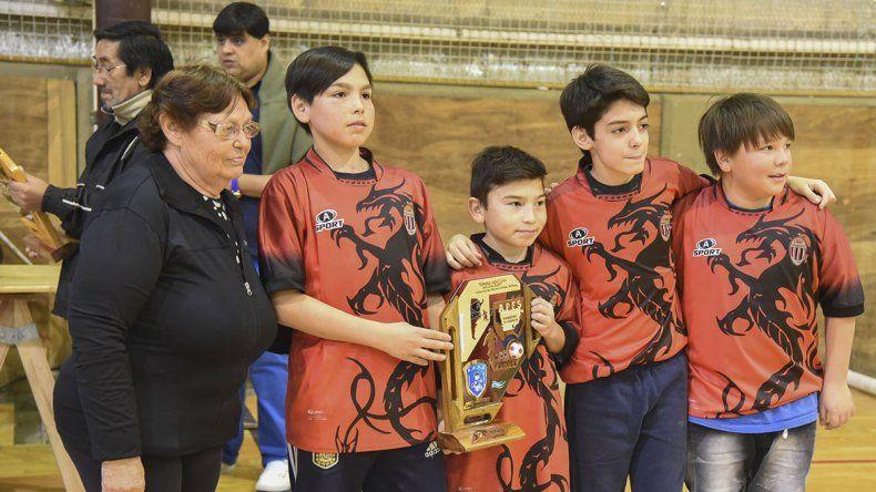 Dragones fue subcampeón en Infantil.