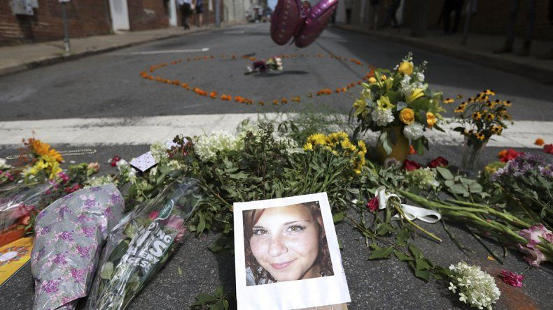 La fotografía de Heather Heyer