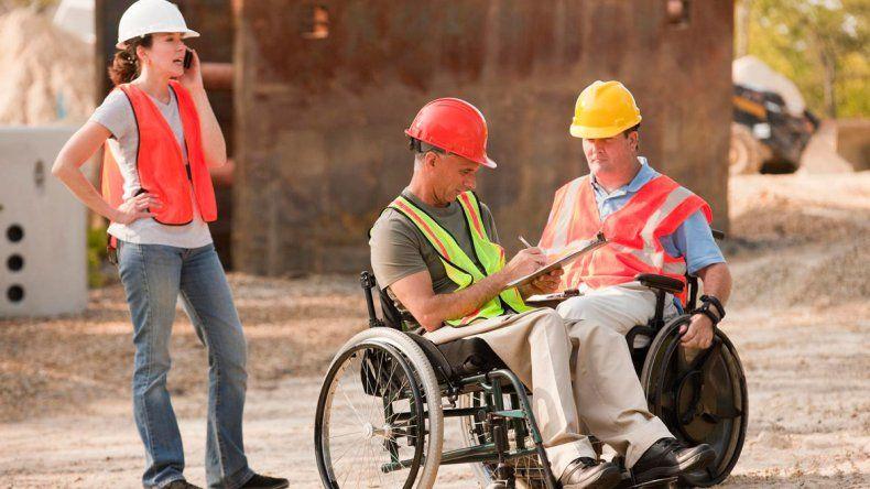 El 69% de los que discapacitados que trabajan tiene una incapacidad motora
