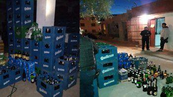 Allanan tres kioscos que vendían alcohol fuera del horario permitido en las 1008 Viviendas