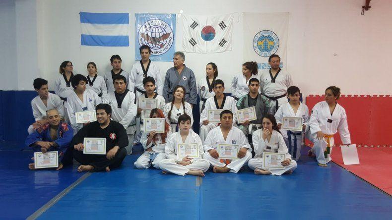 Seminario de Hapkido en Lutador