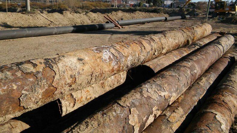 La SCPL comenzó con los trabajos reparación del acueducto Arenal - Ciudadela