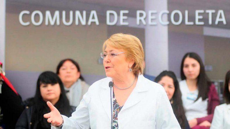 La iniciativa fue impulsada por la presidenta Michelle Bachelet.
