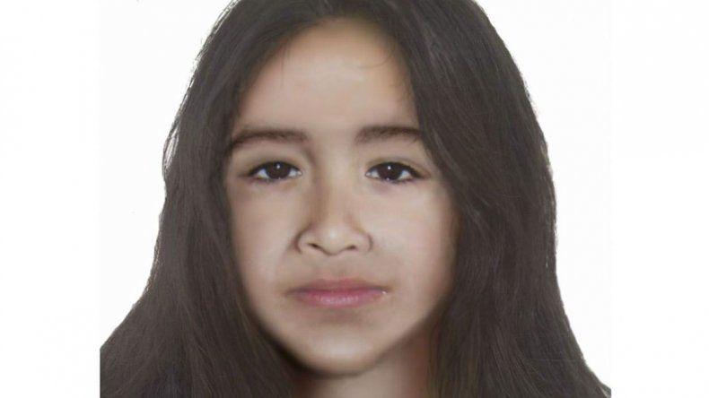 La recreación de cómo sería la fisonomía actual de Sofía Herrera.