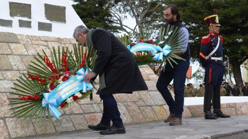 Con un acto recordaron el legado del general José de San Martín