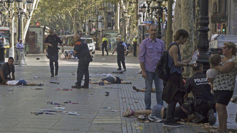 El atentado perpetrado sobre la peatonal dejó trece muertos y más de ochenta heridos.