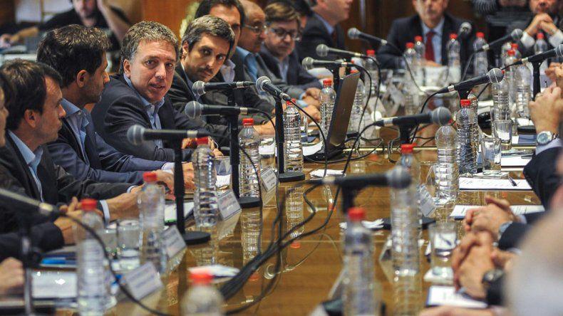 El encuentro de los ministros de Economía de las provincias con el ministro de Hacienda de la Nación