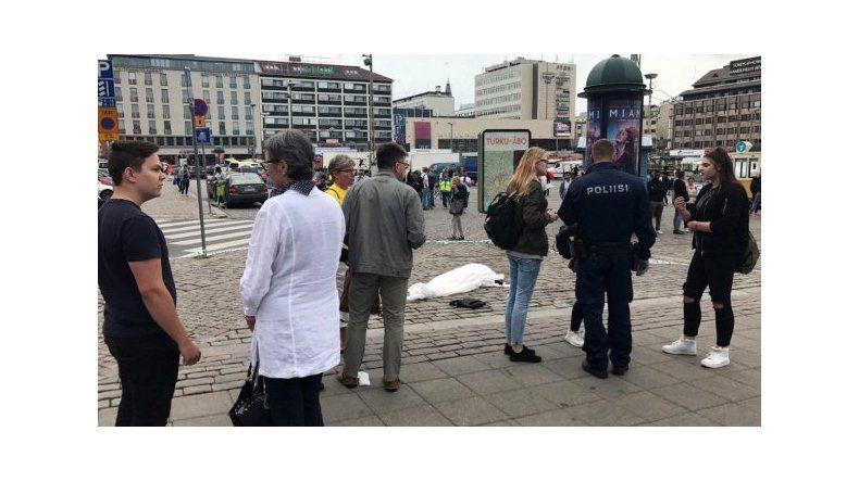 La policía mató a un hombre que apuñaló a varias personas en Finlandia