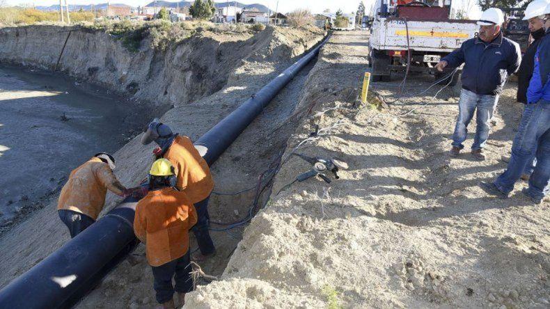 Finalizó la instalación de las primeras etapas de redes de agua
