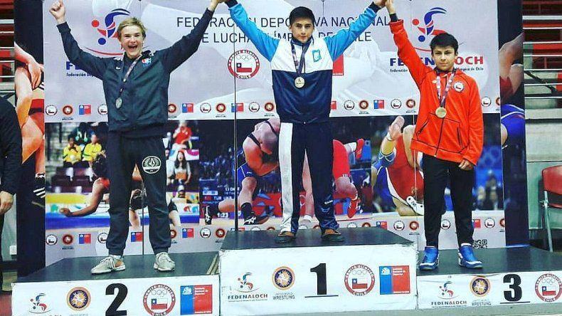 Almendra se coronó campeón del Panamericano en Chile