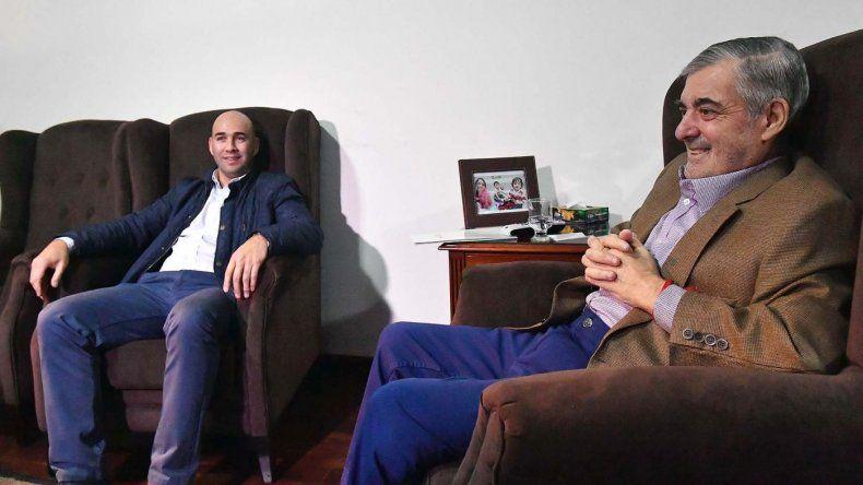Das Neves recibió a Coné Díaz y el exprecandidato del FPV planteó trabajar en conjunto