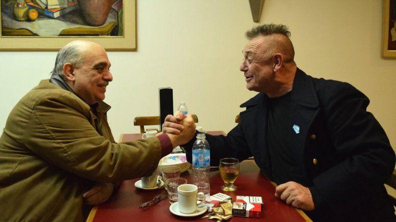 Ricardo Iorio se reunió con un referente neonazi