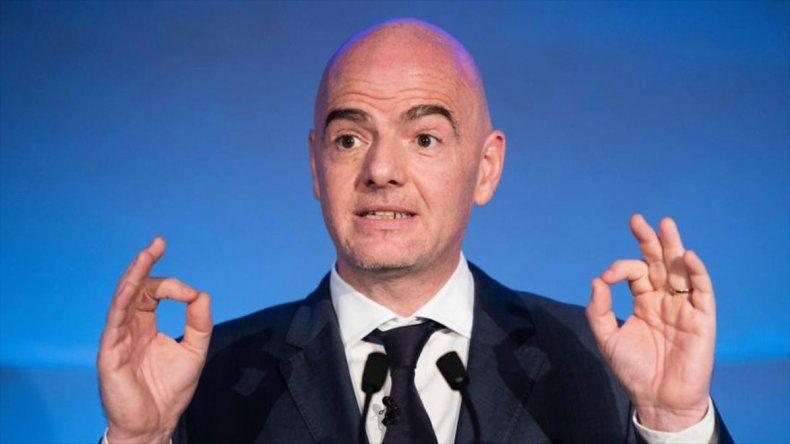 El presidente de FIFA