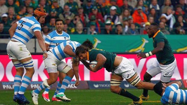 Los Pumas cayeron ante Sudáfrica por la primera fecha