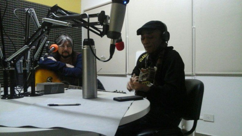 Titín Naves y Alakrán Márquez se reencontraron en un programa a puro rock