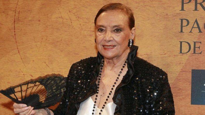 Murió la actriz y cantante Nati Mistral
