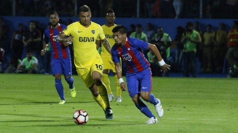 Boca le ganó a Cerro Porteño en Asunción
