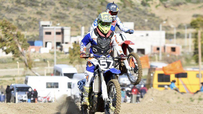 Darío Ovejero se quedó con la victoria en la categoría Master D ayer en Rada Tilly.