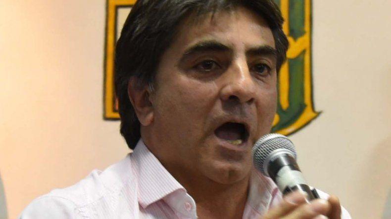 El candidato en primer término a diputado nacional por el FpV-JP