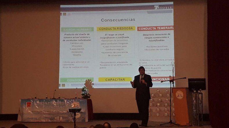 El Congreso que durante dos días se desarrolló en Comodoro Rivadavia.