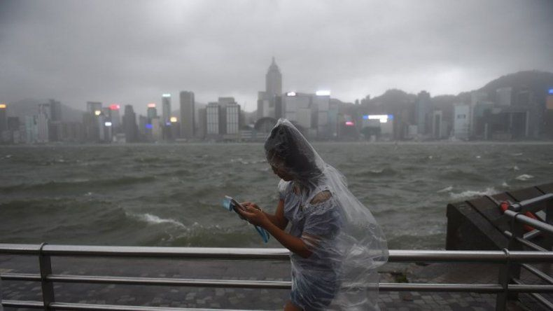 Impresionante tifón dejó 16 muertos en China