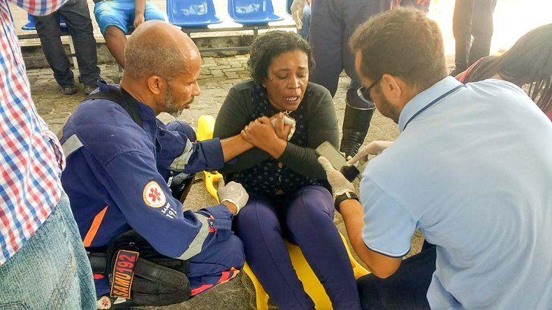 Al menos 89 pasajeros lograron sobrevivir al naufragio.