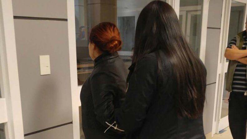Romina Pepa Varas fue detenida durante la noche del miércoles por personal policial de la Brigada de Investigaciones.