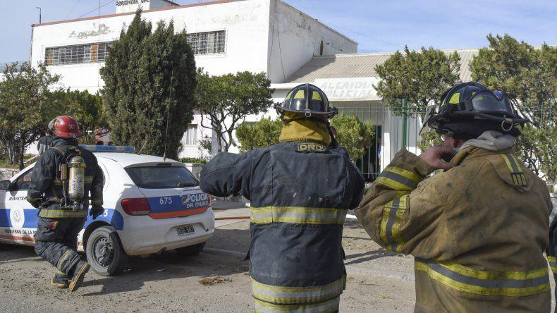 Iniciaron un sumario administrativo por el incendio en la alcaidía