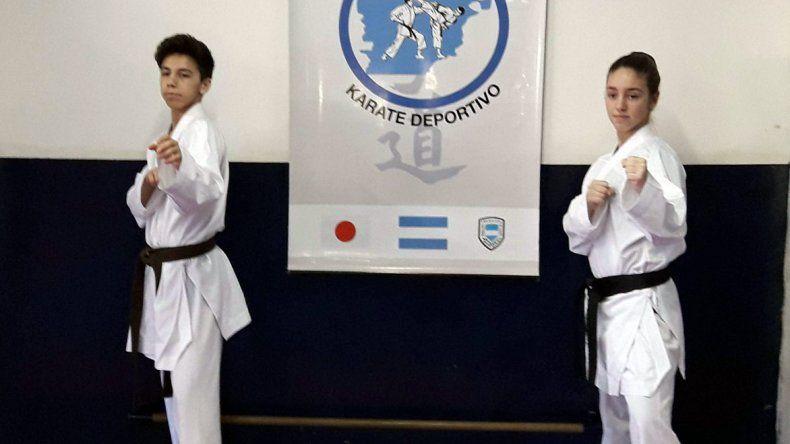 Esteban Barceló y Paola Giménez están participando en el Panamericano Juvenil.