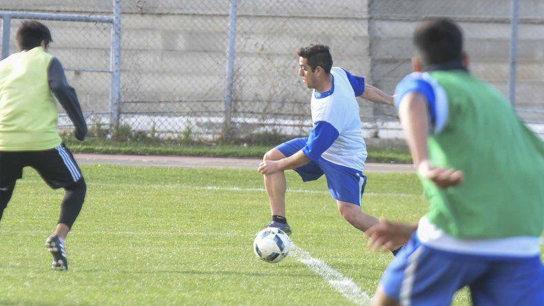 Marchant reemplazó a Contreras en el entrenamiento que realizó ayer la CAI.