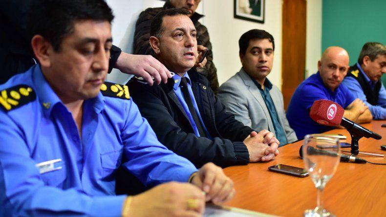 El jefe de Policía de Chubut