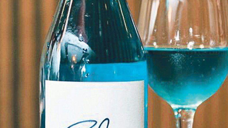 Polémico:  vino azul