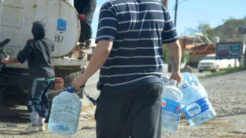 Desde el martes que están sin agua y no reciben respuestas