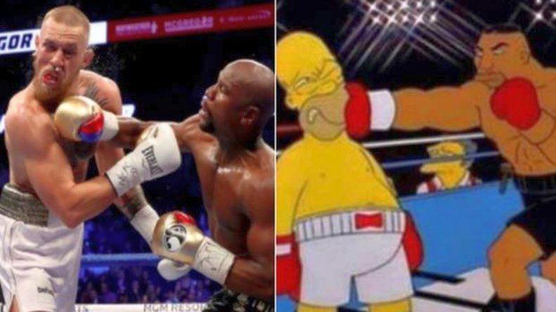 Los memes del triunfo de Mayweather sobre McGregor
