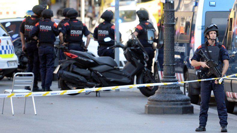 El estricto control policial que se registra en Cataluña a partir de los atentados.