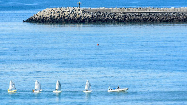 Un fin de semana a plena competencia se dio lugar en la costanera local.