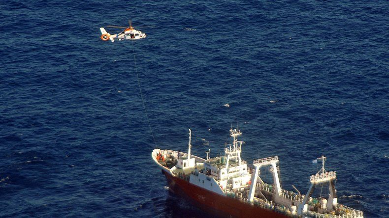 Resultado de imagen para Prefectura Naval Argentina, rescate sanitario en el mar