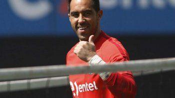 Claudio Bravo se mostró feliz por el fallo del Tribunal Arbitral del Deporte.